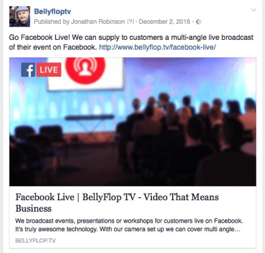 BellyflopTV_Facebookpage
