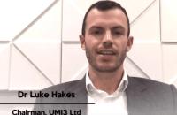 Dr Luke Hakes, Chairman UMI3