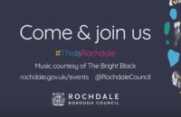 Rochdale Borough Council 2018 events calendar