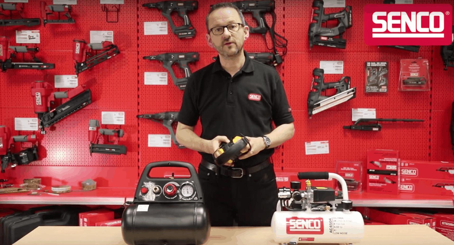 Kyocera Senco Low Noise Compressor