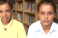 school kids bellyflop tv