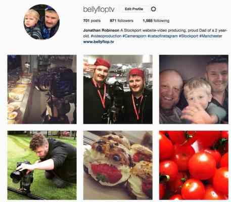 Instagram BellyflopTV
