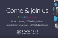 Rochdale Borough Council 2018 events calendar