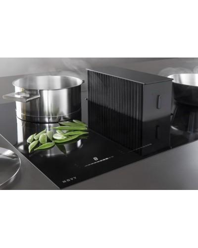 novy one table de cuisson induction avec hotte integree premium bellynck et fils