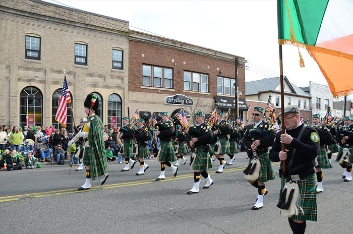Jersey Shore St Patrick Parades