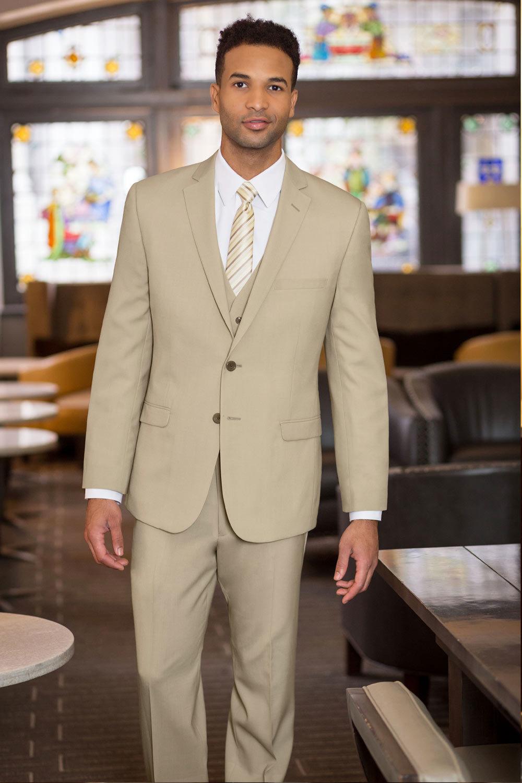 Tan Slim Fit Suit  Belmeade Mens Wear