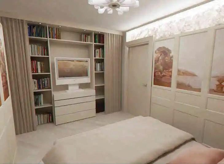 спальня без окна дизайн фото 3