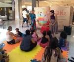 Contação de histórias anima tarde de domingo no Minas Shopping
