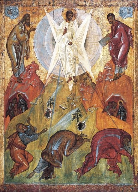 The Saviour's Transfiguration, early15th C, Tretyakov Gallery, attributed to Theophanes the Greek