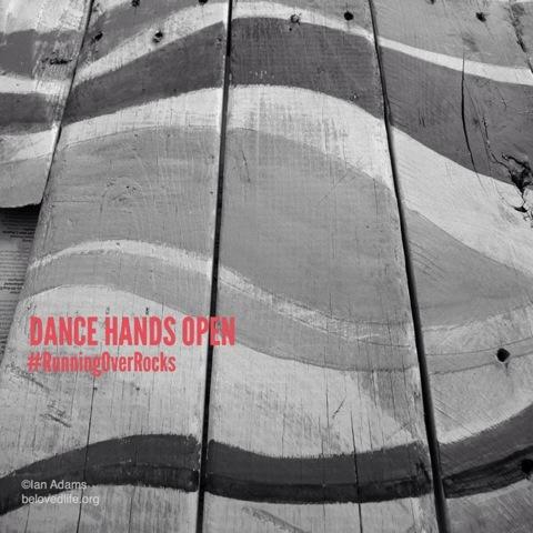 beloved life: dance hands open