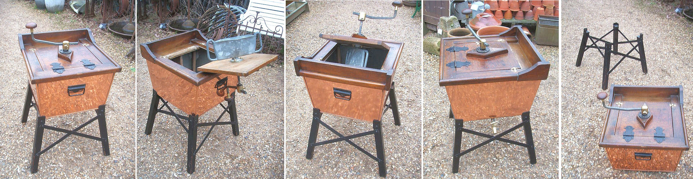 Copper Washing Machine WP11 - Below Stairs of Hungerford