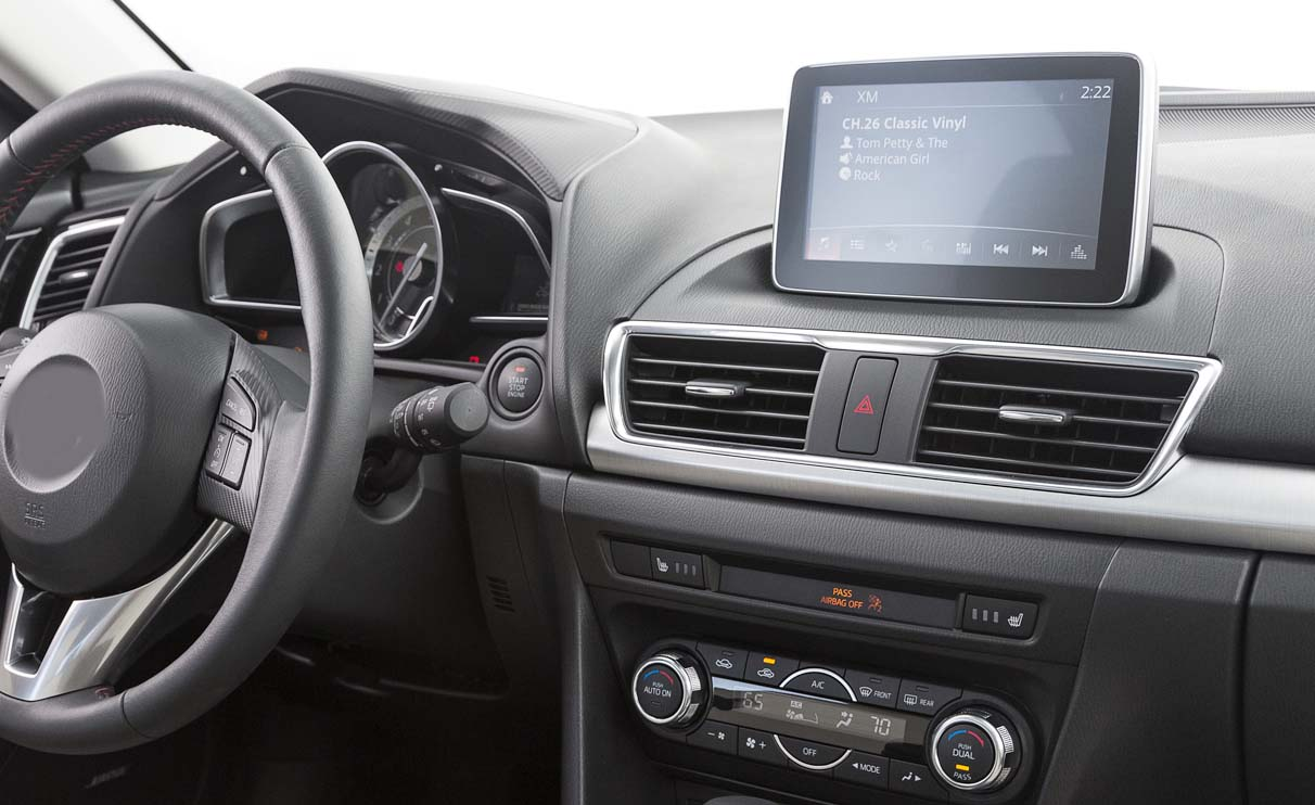 hight resolution of mazda 3 axela factory radio