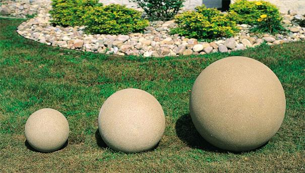 concrete sphere bollard belson