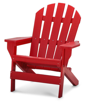 red adirondack chairs what is chair yoga cape cod recycled plastic belson outdoors model pb adcap commercial grade