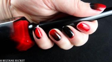 Rouge Louboutin Nail Art