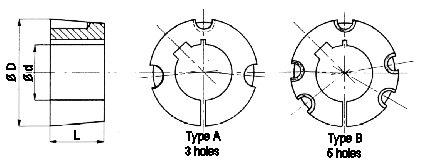 2517 Taperlock Bushes [4848] : Beltingonline.com, Supplier
