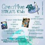 Creative STEAM Kids Summer Camp