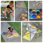 Fun from home: 3 ingredient sidewalk chalk paint