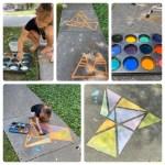 Fun from home: 3 ingredient sidewalk chalk paint