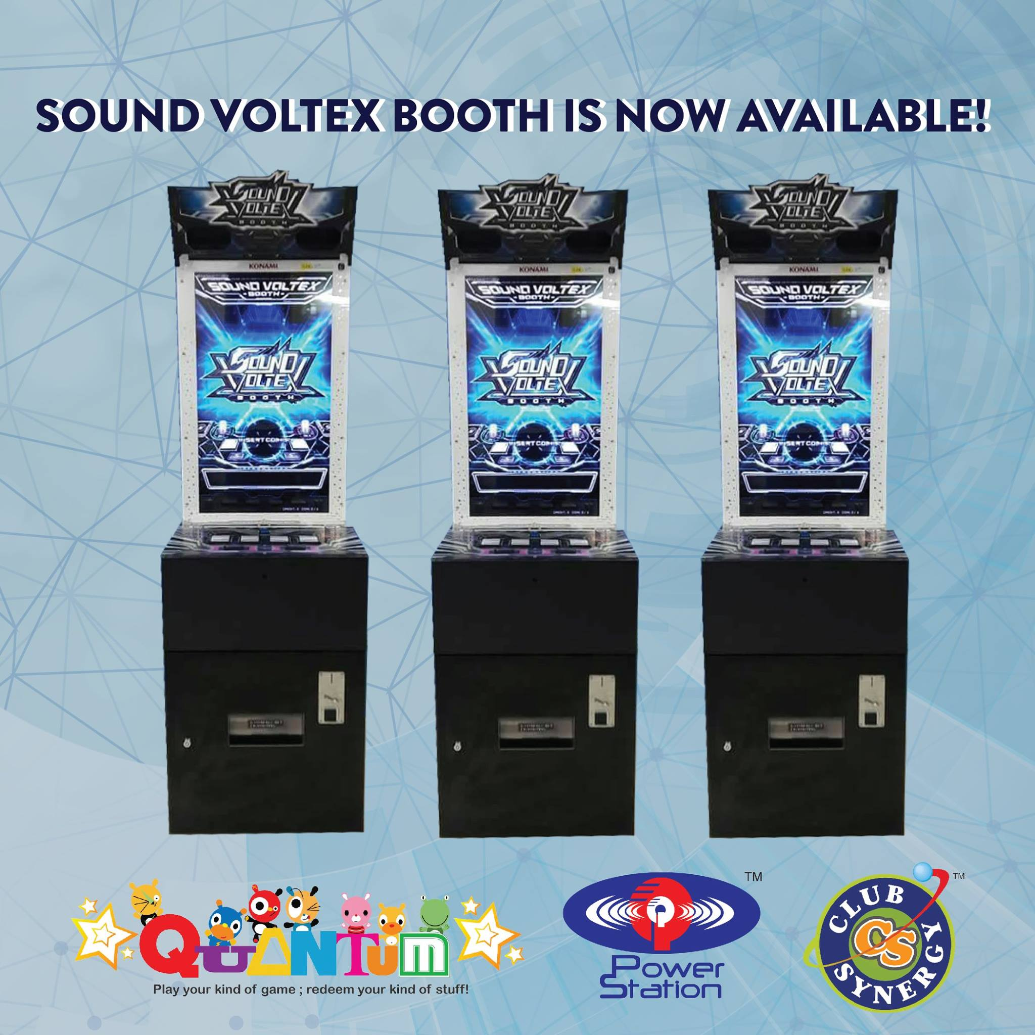 SOUND VOLTEX BOOTH (Offline Ver ) Available at Select Quantum