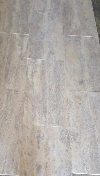 Silver honed and filled Travertine Tile | Travertine ...