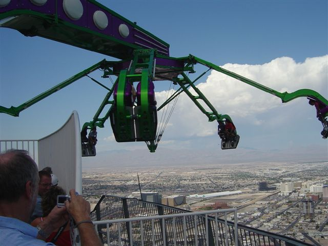 Stratosphere Thrill Ride Las Vegas