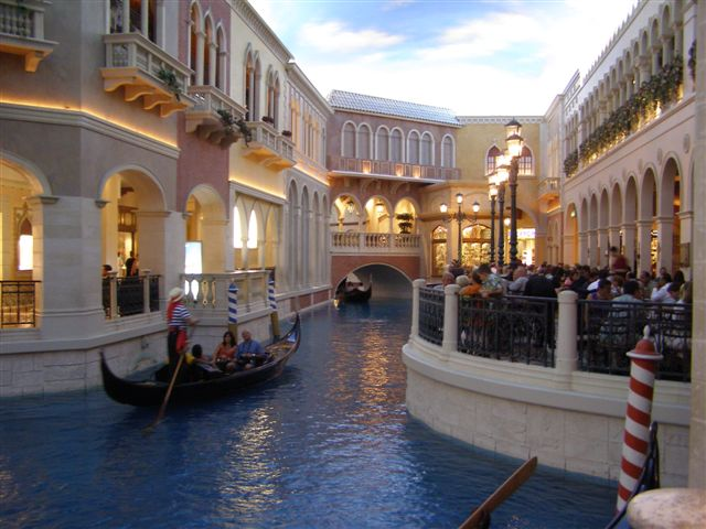 The Venetian Hotel Canals Las Vegas