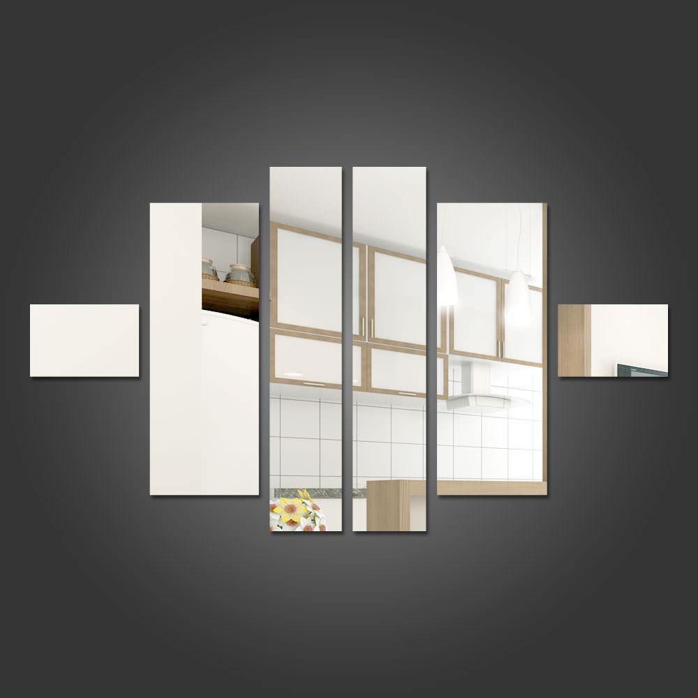 Espelho Decorativo Retngulos Personalizveis  bemColar