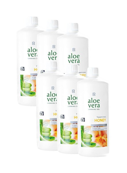 LR Aloe Vera Drinking Gel Honey Sixpack 80706