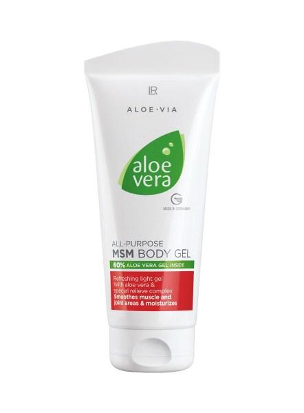 LR ALOE VIA Aloe Vera All-Purpose MSM Body Gel