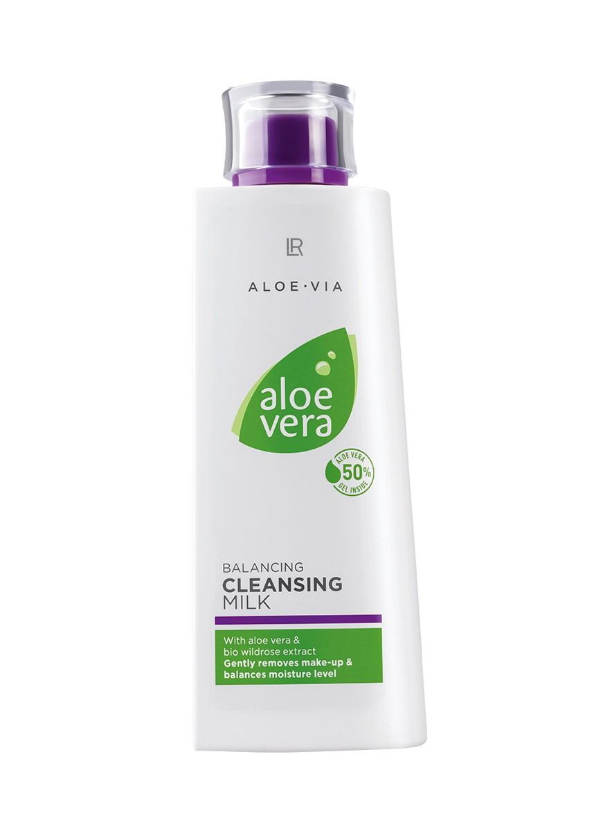 LR ALOE VIA Aloe Vera Balancing Cleansing Milk