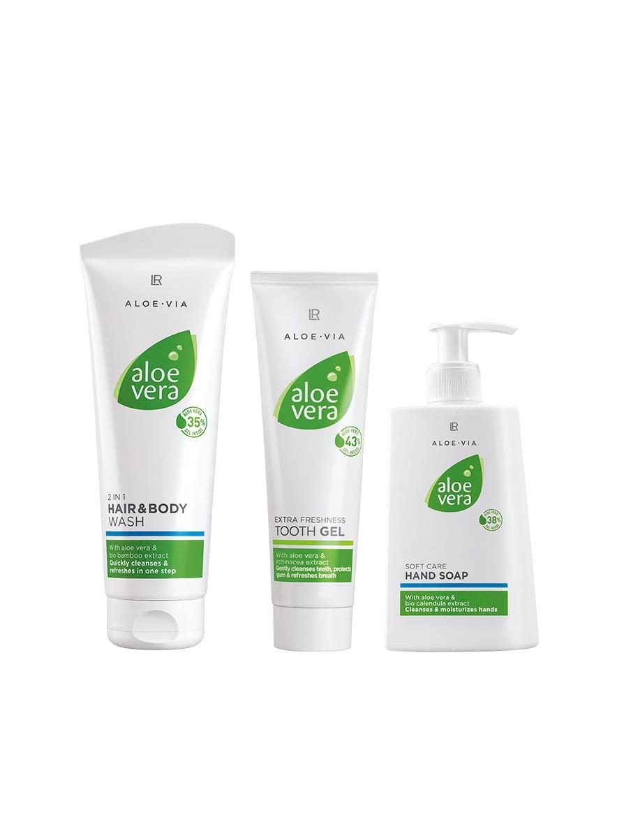 LR ALOE VIA Aloe Vera Hygiene Set