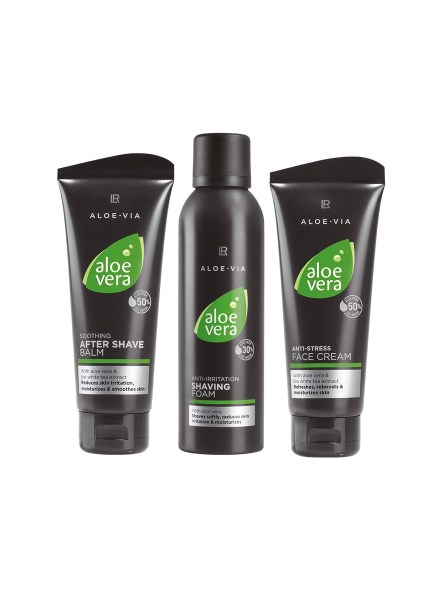 LR ALOE VIA Aloe Vera Men Care Set with Shaving Foam