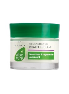 LR ALOE VIA Aloe Vera Regenerating Night Cream | Regenererende nachtcrème