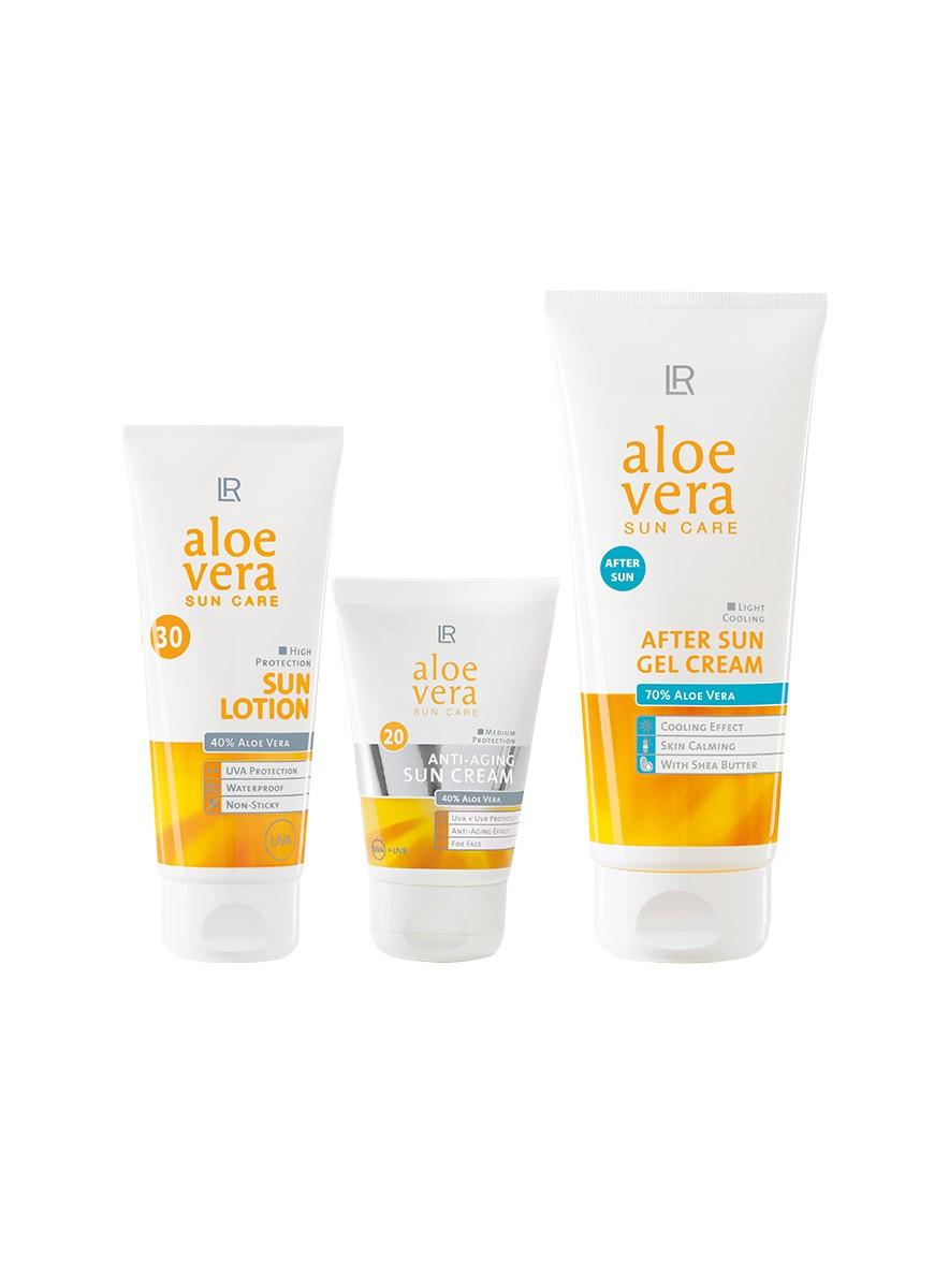 LR Aloe Vera Sun Care Sun Protection Set