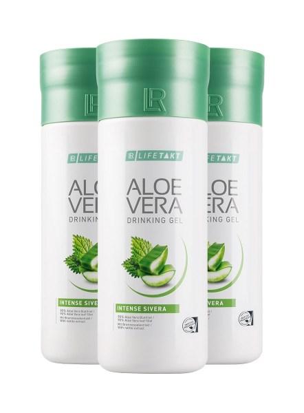 LR LIFETAKT Aloe Vera Drinking Gel Intense Sivera | Aloë Vera Drinking Gel Sivera - Set van 3
