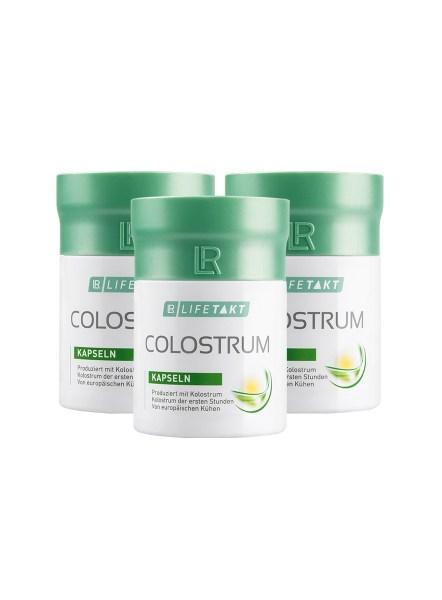 LR LIFETAKT Colostrum Capsules - Colostrum Set van 3