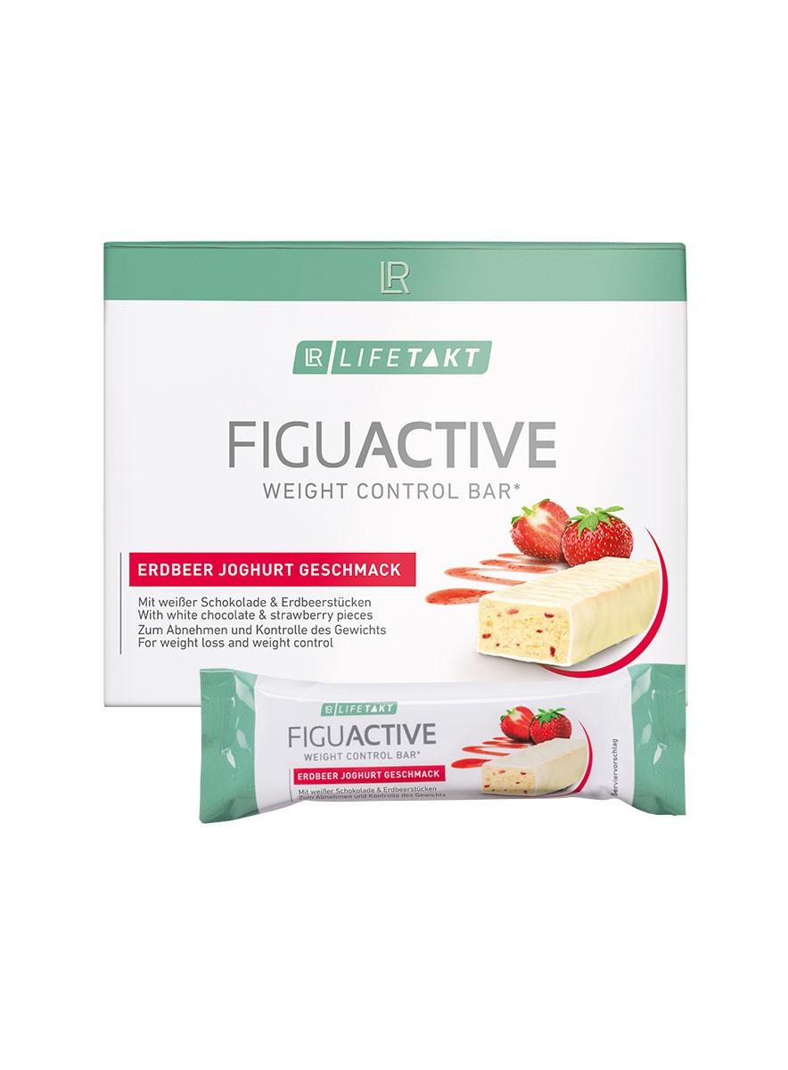 LR LIFETAKT FiguActive Weight Control Bar FiguActiv Aardbei Joghurt Reep Maaltijdreep
