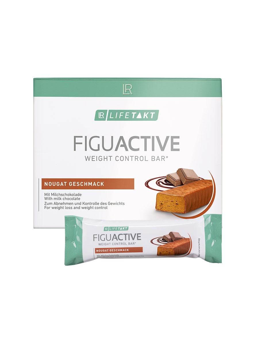LR LIFETAKT FiguActive Weight Control Bar FiguActiv Nougat Reep Maaltijdreep