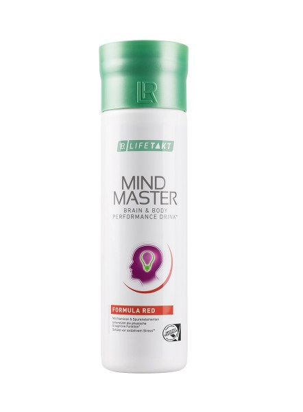 LR LIFETAKT MindMaster Brain & Body Performance Drink Mind Master Formula Red | Rood - Anti-stress drank