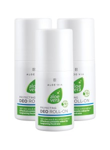 LR ALOE VIA Aloe Vera Protecting Deo Roll-on Set van 3