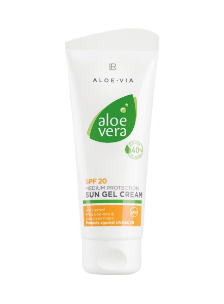 LR ALOE VIA Aloe Vera Sun Gel Cream SPF 20