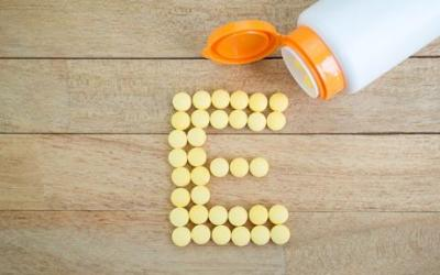 Vitamine E, een antioxidant en antilitteken vitamine