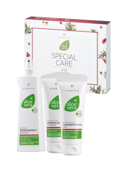LR ALOE VIA Aloe Vera Special Care Box X-Mas Edition