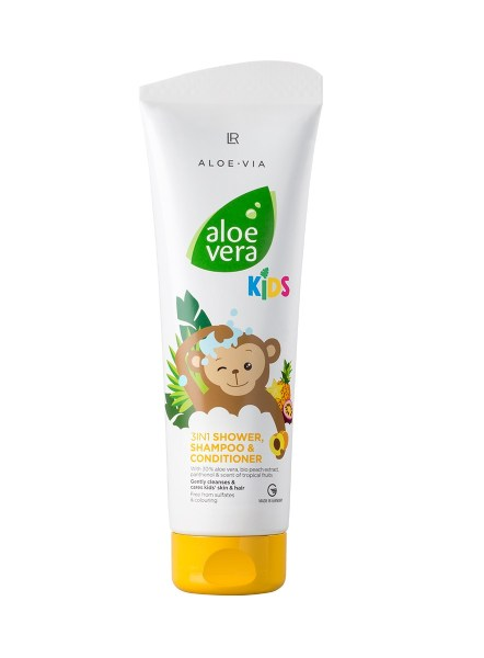 LR ALOE VIA Aloe Vera Kids 3in1 Shower Shampoo Conditioner