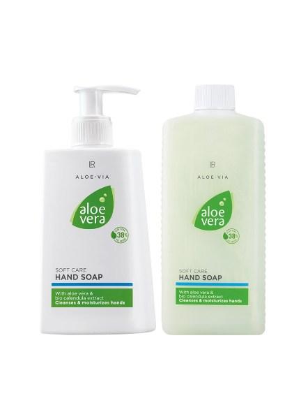 LR ALOE VIA Aloe Vera Soft Care Hand Soap Set