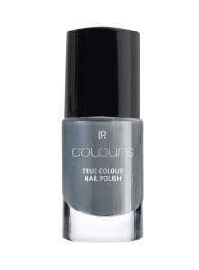 LR Colours Nail Polish Dark Silvergrey | Grijs