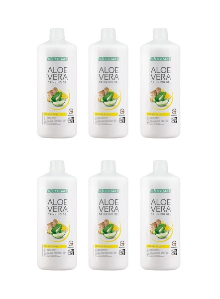LR LIFETAKT Aloe Vera Drinking Gel Immune Plus - Set van 6