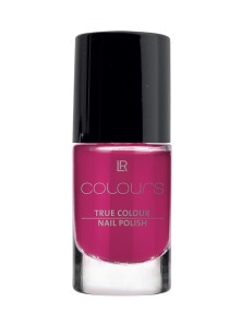 LR COLOURS True Colour Nail Polish No 9 Foxy Fuchsia