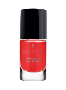 LR COLOURS True Colour Nail Polish No 7 Happy Coral